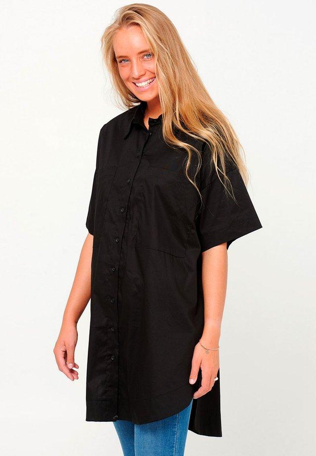 MAIDEN - Button-down blouse - black