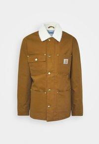 FAIRMOUNT COAT DEARBORN - Winter jacket - brown rigid