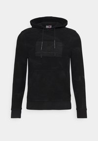 Tommy Hilfiger - LEWIS HAMILTON UNISEX GMD FLAG HOODY - Sweater - black - 6