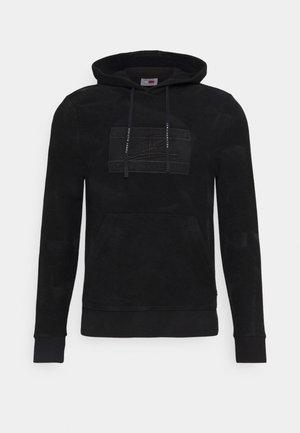 LEWIS HAMILTON UNISEX GMD FLAG HOODY - Sweatshirt - black