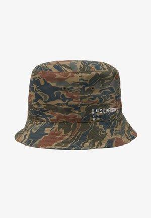 REVERSIBLE BUCKET HAT - Hut - green
