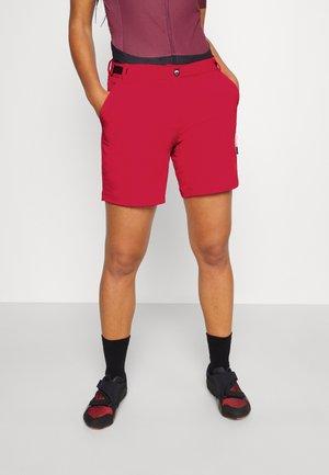 WOMAN FREE BIKE BERMUDA WITH INNER UNDERWEAR 2-IN-1 - Sports shorts - fragola
