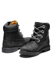 Timberland - CONVENIENCE LACE BOOT - Lace-up ankle boots - black nubuck - 2