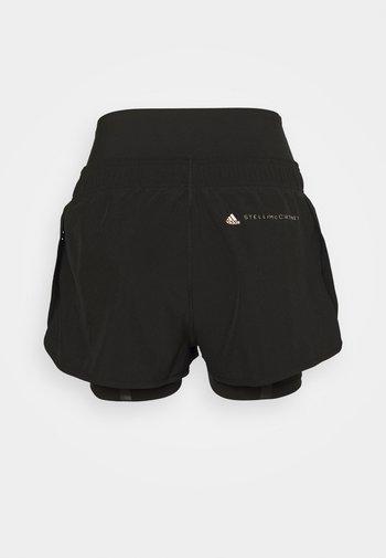 TRUEPUR - Pantalón corto de deporte - black