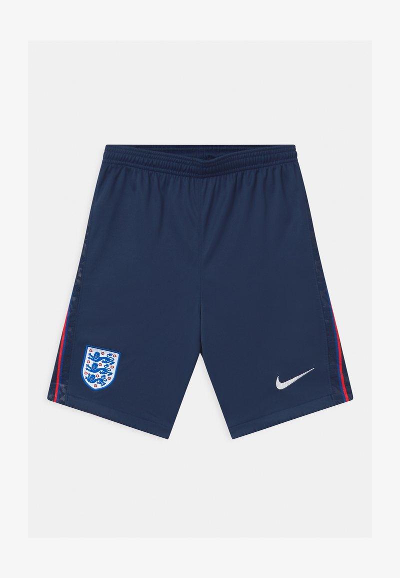 Nike Performance - ENGLAND UNISEX - Sports shorts - midnight navy/white