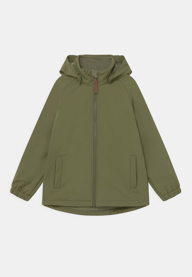 ADEN UNISEX - Giacca softshell - olive green