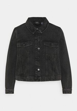 VMMIKKY SHORT JACKET - Denim jacket - black