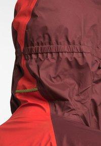 Haglöfs - L.I.M COMP JACKET  - Outdoor jacket - habanero/maroon red - 3