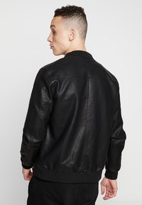YOURTURN - Faux leather jacket - black - 3