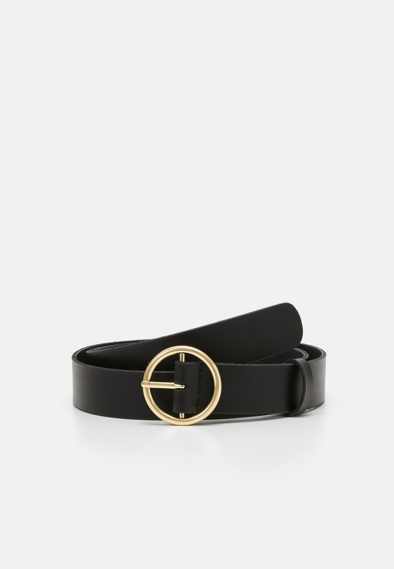 Zign - LEATHER - Belt - black