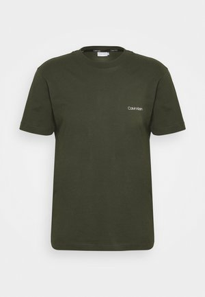 CHEST LOGO - T-Shirt basic - dark olive