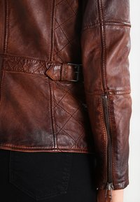 Gipsy - ADVANCE LATEOV - Skinnjakke - vintage brown - 5