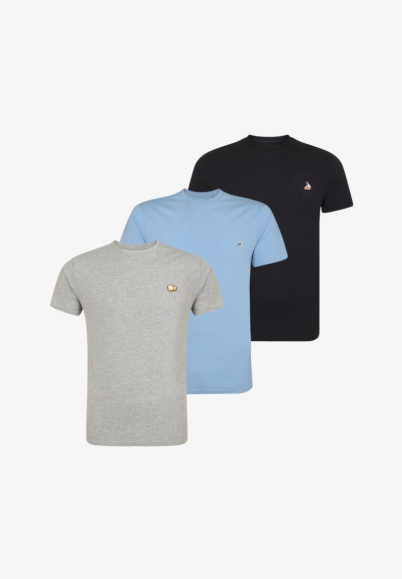 Threadbare - 3 PACK - T-shirt basique - multi