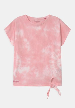 CLOE - Print T-shirt - light pink