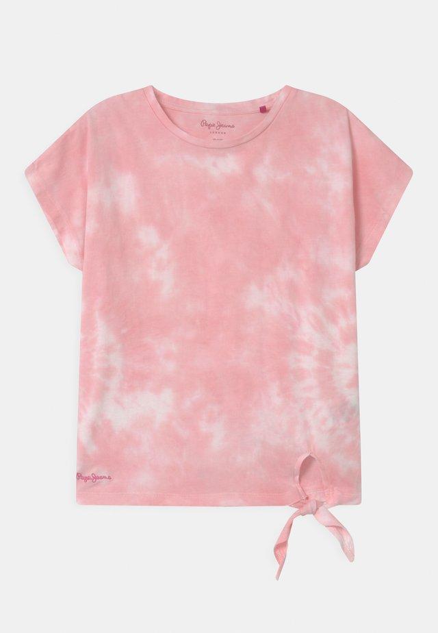 CLOE - T-shirt print - light pink