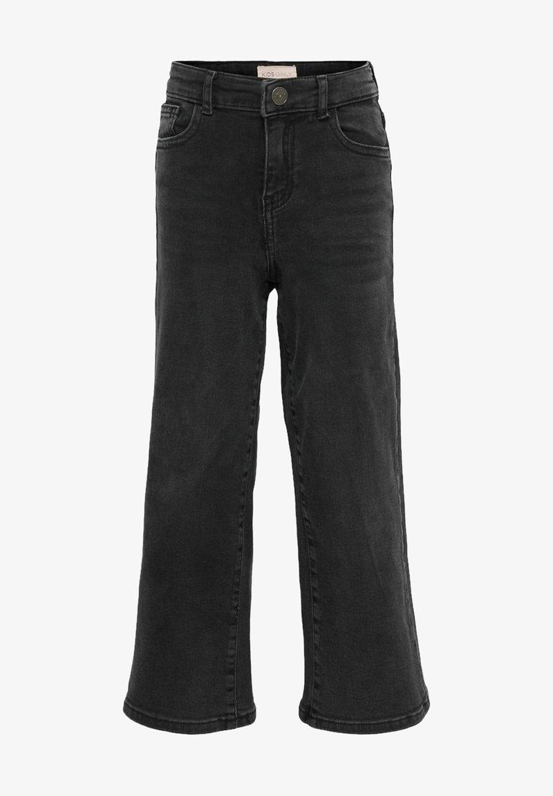 Kids ONLY - KONMADISON LIFE  - Jeans Bootcut - black