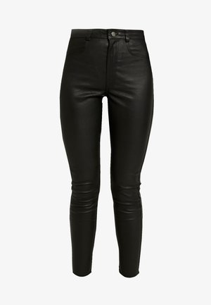 YASZEBA - Kalhoty - black