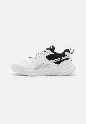 RUSH RUNNER 3.0 UNISEX - Neutral running shoes - white/black/silver matallic