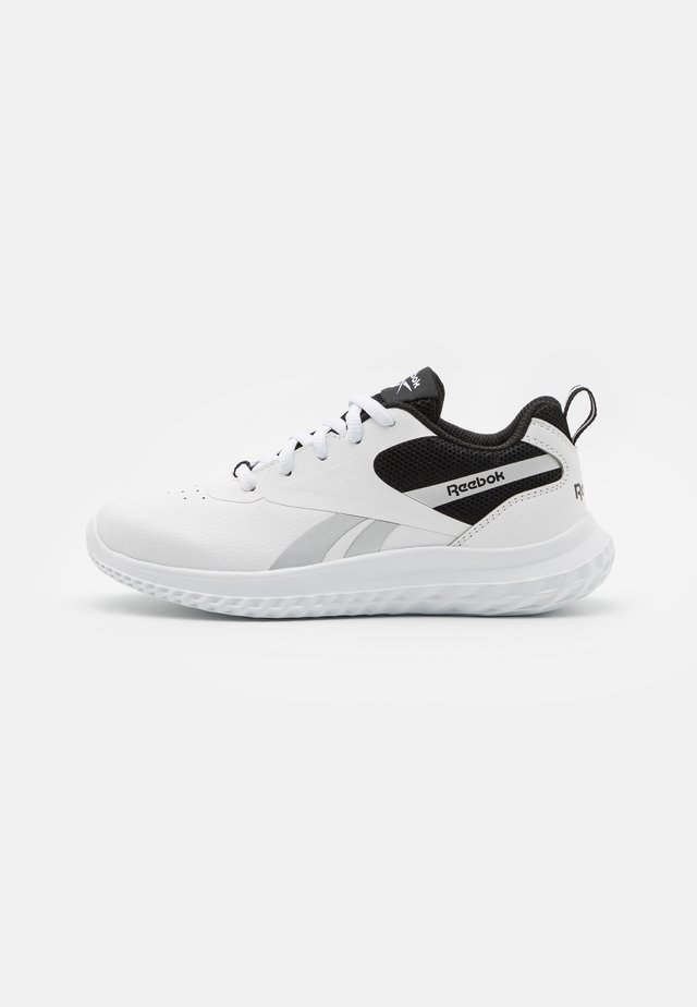 RUSH RUNNER 3.0 UNISEX - Zapatillas de running neutras - white/black/silver matallic
