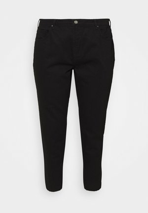CROPPED MOM FIT - Jeans Skinny Fit - black