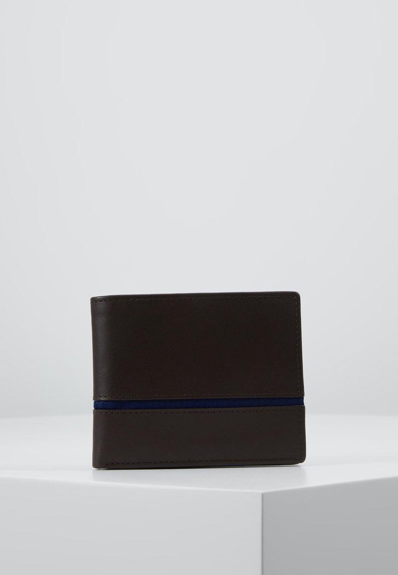 Pier One - LEATHER - Wallet - dark brown