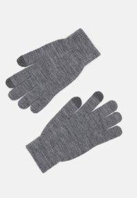 Jack & Jones - JACSONNY GLOVES 2 PACK - Gloves - grey melange - 1