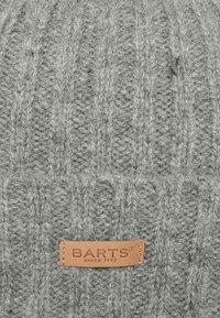 Barts - HAAKON TURNUP - Beanie - heather grey - 6