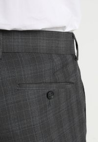 Lindbergh - MENS SUIT SLIM FIT - Completo - grey check - 9