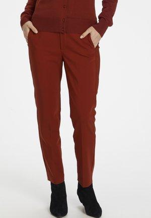 ZELLAIW FLAT  - Pantalon classique - cayenne