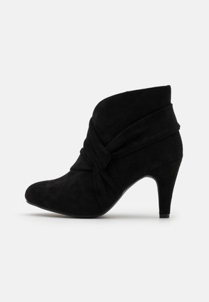 WIDE FIT WINDING - Boots à talons - black