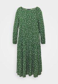 Even&Odd Curvy - Day dress - green/white - 3