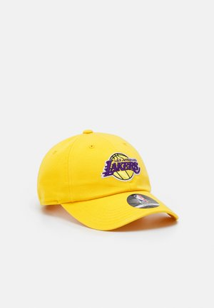 NBA LA LAKERS TEAM SLOUCH ADJUSTABLE UNISEX - Klubové oblečení - bright yellow