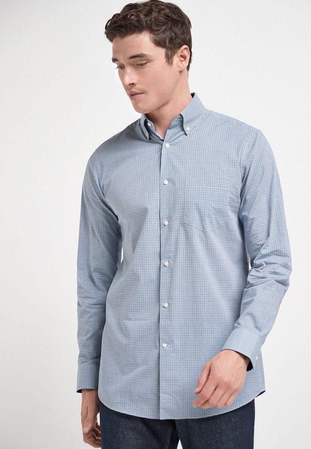 CHECK REGULAR FIT - Shirt - grey