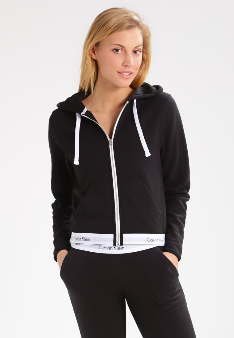 Damen MODERN LOUNGE FULL ZIP HOODIE - Nachtwäsche Shirt