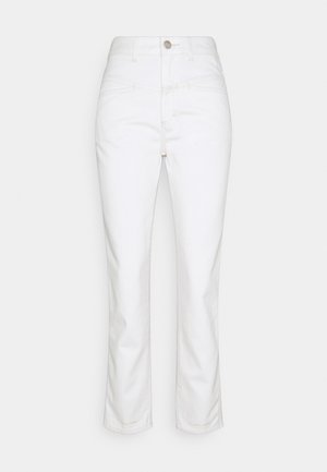 PEDAL PUSHER - Jeans straight leg - creme