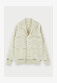 Scotch & Soda - JACQUARD  - Cardigan - sand melange - 5