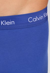 Calvin Klein Underwear - LOW RISE TRUNK 3 PACK - Culotte - blue - 4