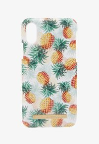 iDeal of Sweden - FASHION CASE IPHONE X/XS - Phone case - pineapple bonanza - 1