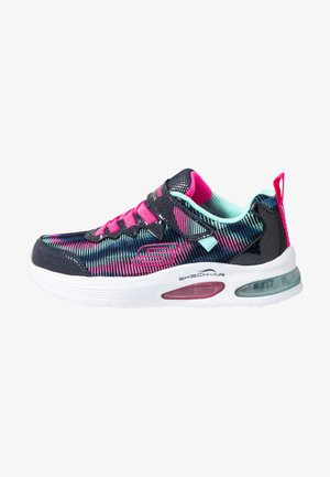 SKECH-AIR DUAL - Trainers - navy/multicolor/hot pink