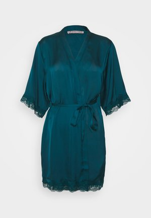 Dressing gown - dark green
