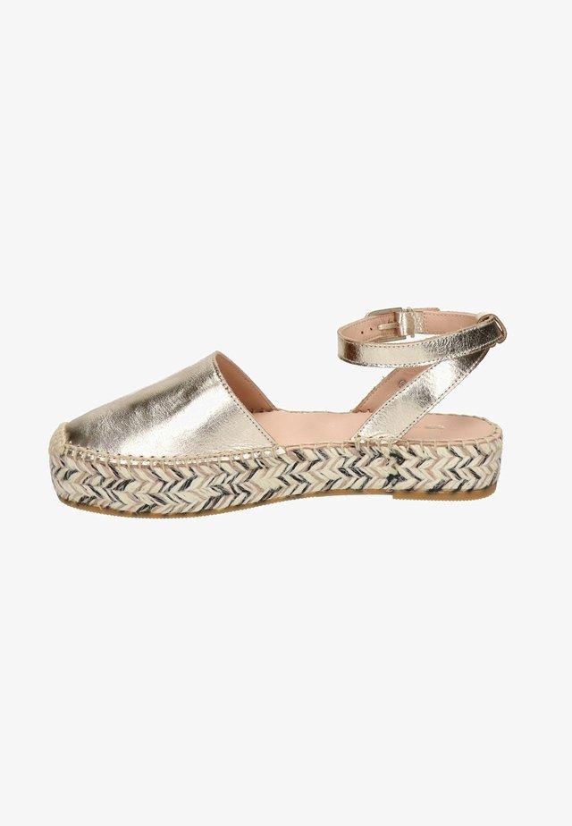 Sandalen - goud