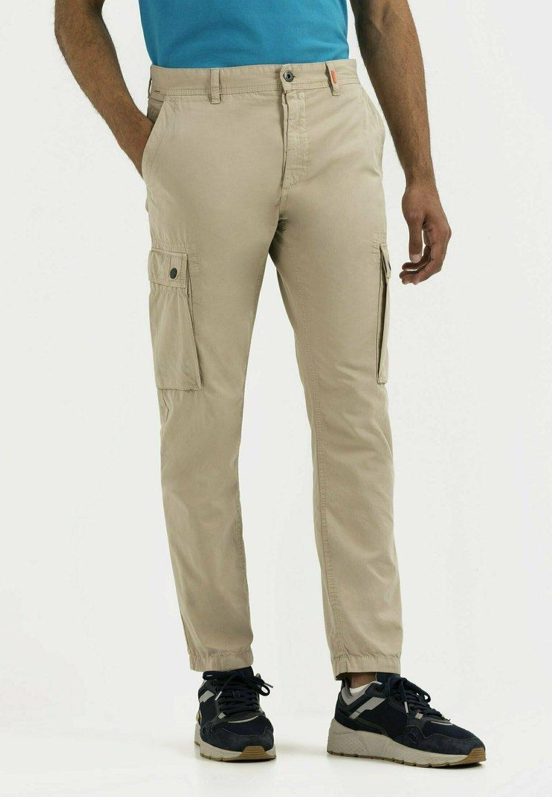 camel active - Cargo trousers - beige
