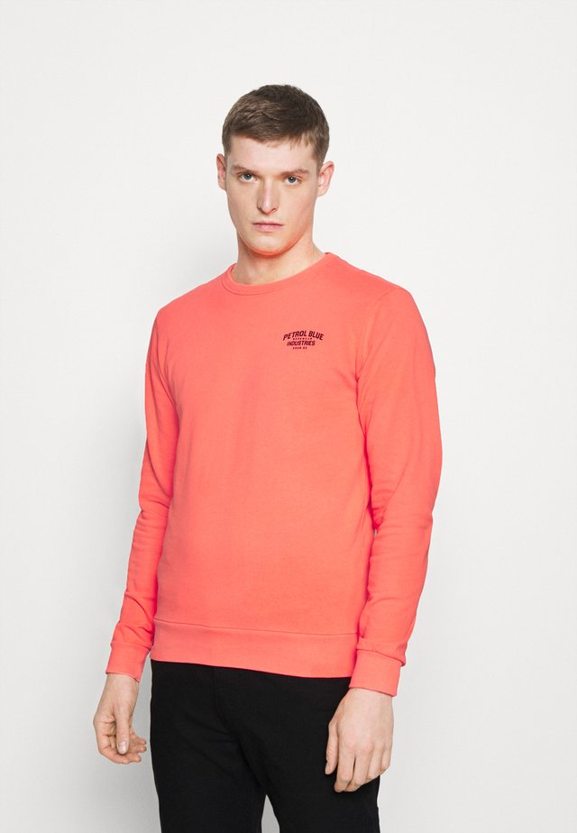 Sweater - fiery coral