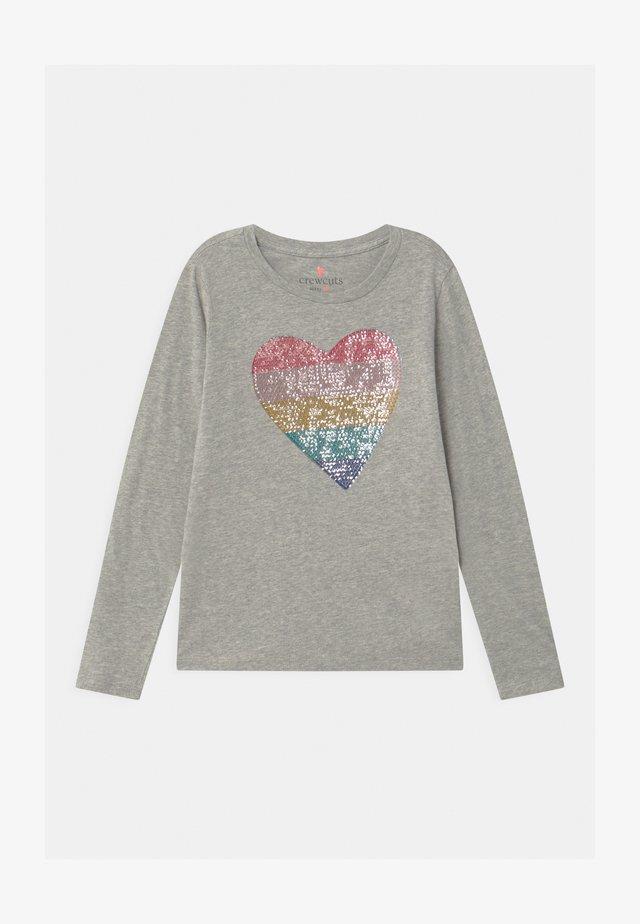 HEART - Camiseta de manga larga - grey