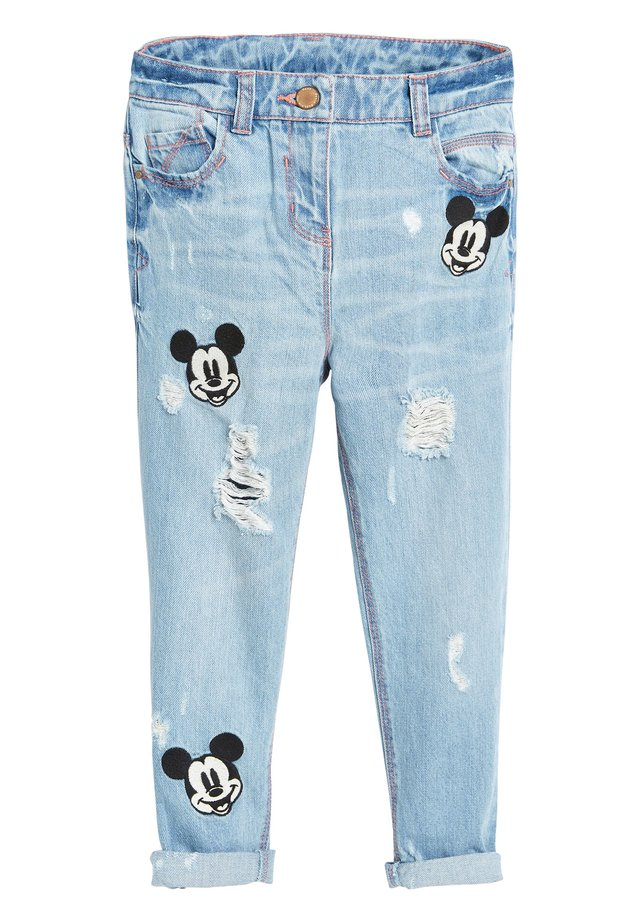 DENIM MICKEY MOUSE PATCH JEANS (3-16YRS) - Straight leg jeans - blue