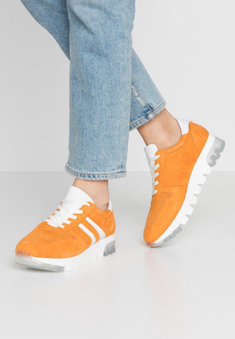 Tamaris - LACE-UP - Trainers - orange