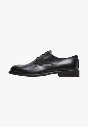DERBY - Elegantní šněrovací boty - black