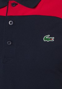 Lacoste Sport - TENNIS - Poloshirt - navy blue/ruby/white - 3
