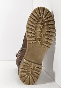 Inuovo - Platform ankle boots - nb brown ubr - 5