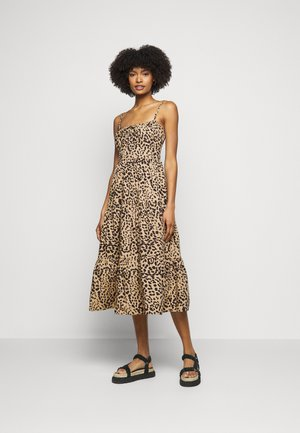 ALEXIA MIDI DRESS - Korte jurk - shamari animal